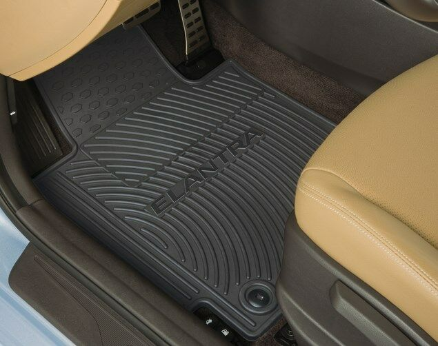 Oem 2011 2013 Hyundai Elantra All Weather Floor Mats 4 Pc