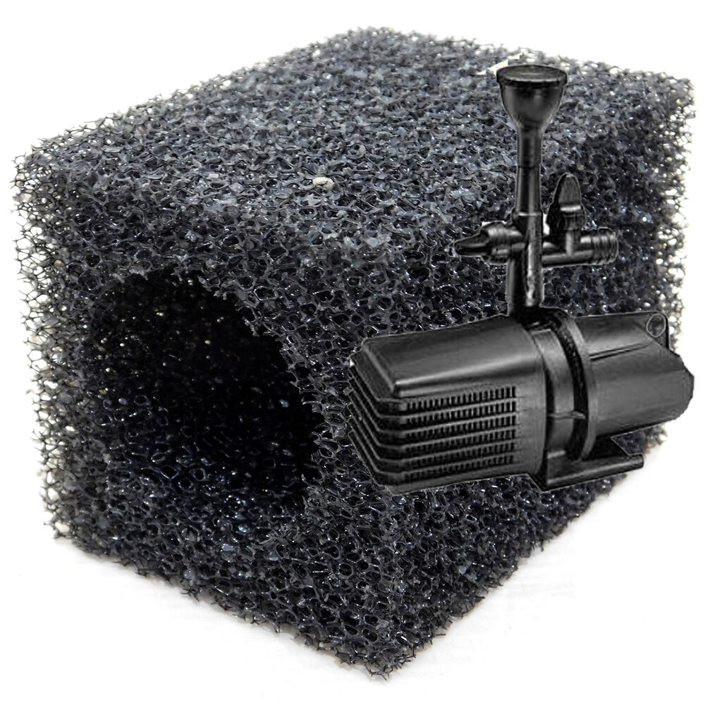 Blagdon replacement pre filter foam sponge for amphibious for Garden pond pump filters