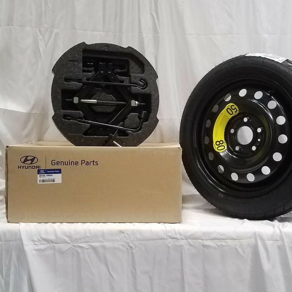 Details About 11 15 Oem Hyundai Sonata Hybrid Complete Spare Tire Kit Mounted 09100 4r999