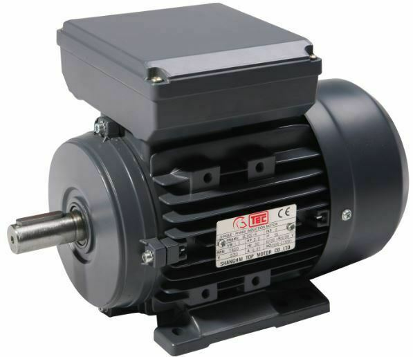 2 2 kw 3 hp single phase electric motor 240v 2800 rpm 2 for Used electric motor shop equipment for sale