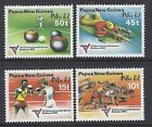 1982 PAPUA NEW GUINEA COMMONWEALTH GAMES SET OF 4 FINE MINT MUH/MNH