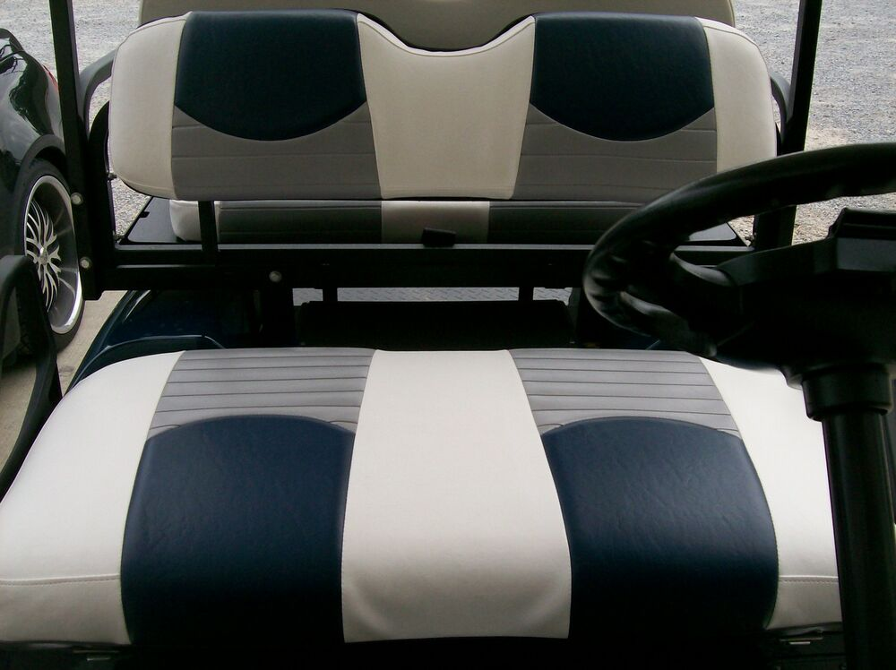 Club Car Precedent Golf Cart Deluxe Seat Covers Front And