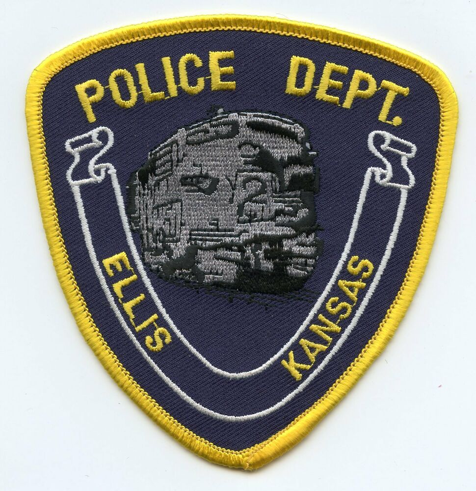 ELLIS KANSAS KS POLICE PATCH
