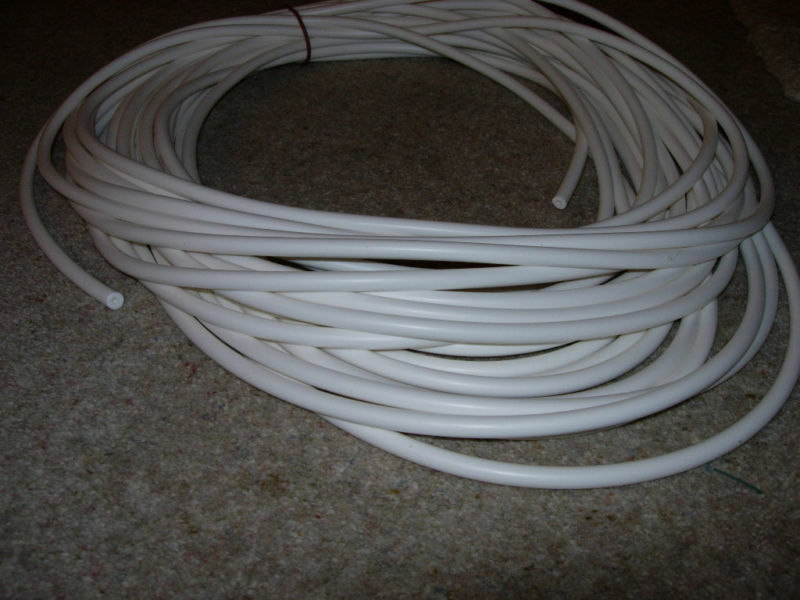 Rubber Silicone Cord O Ring White 8 5mm X 1m Ebay