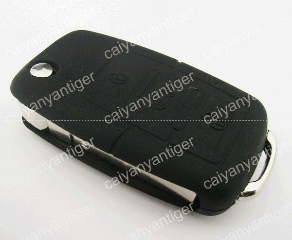 Cool Black Silicone Protective Cover Hold Bag VW Remote Key Shell FOB 3 Buttons | eBay
