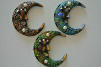 Beautiful Astral Moon Wall Art Hanging Plaque
