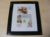 VOGUE WIDE FLAT BLACK 8x10 / 10x8 INCH (20x25 CM) PHOTO FRAME