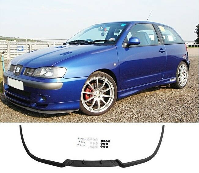 seat ibiza mk2 mk3 3 6k front bumper cup chin spoiler lip splitter valance cupra ebay. Black Bedroom Furniture Sets. Home Design Ideas