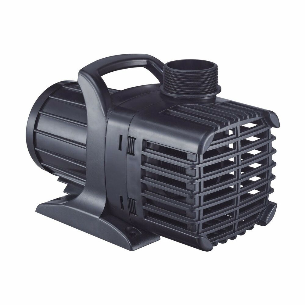 New 1000 gph submersible pond pump 3 4 1 1 2 tubing 85w for Submersible pond pump with filter