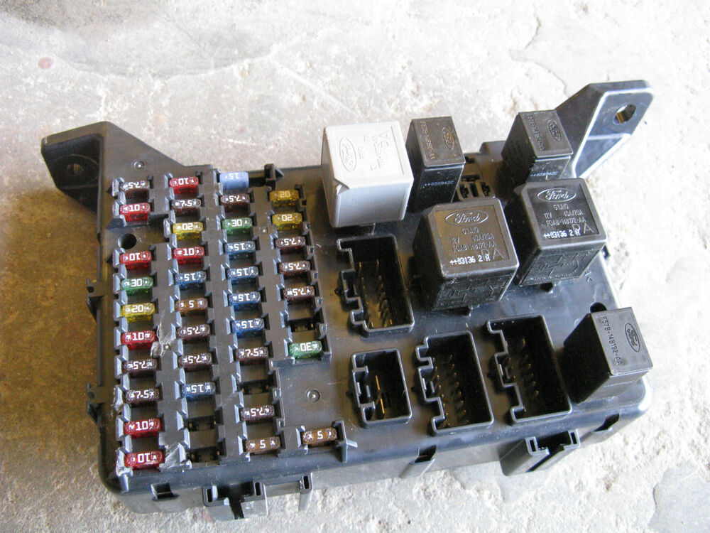 jaguar x type fuse box 1x43 14a073 ag 2002 2003 2004 05 06 ebay 2003 Ford Ranger Fuse Box 2003 Ford Explorer Fuse Box