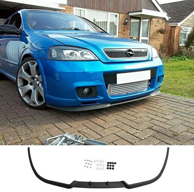 vauxhall opel astra g mk4 4 front bumper cup chin spoiler lip splitter valance ebay. Black Bedroom Furniture Sets. Home Design Ideas