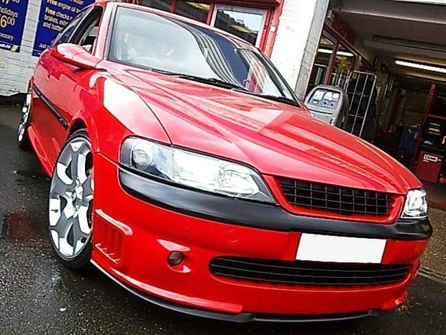 vauxhall opel vectra b mk2 2 front bumper cup chin spoiler. Black Bedroom Furniture Sets. Home Design Ideas