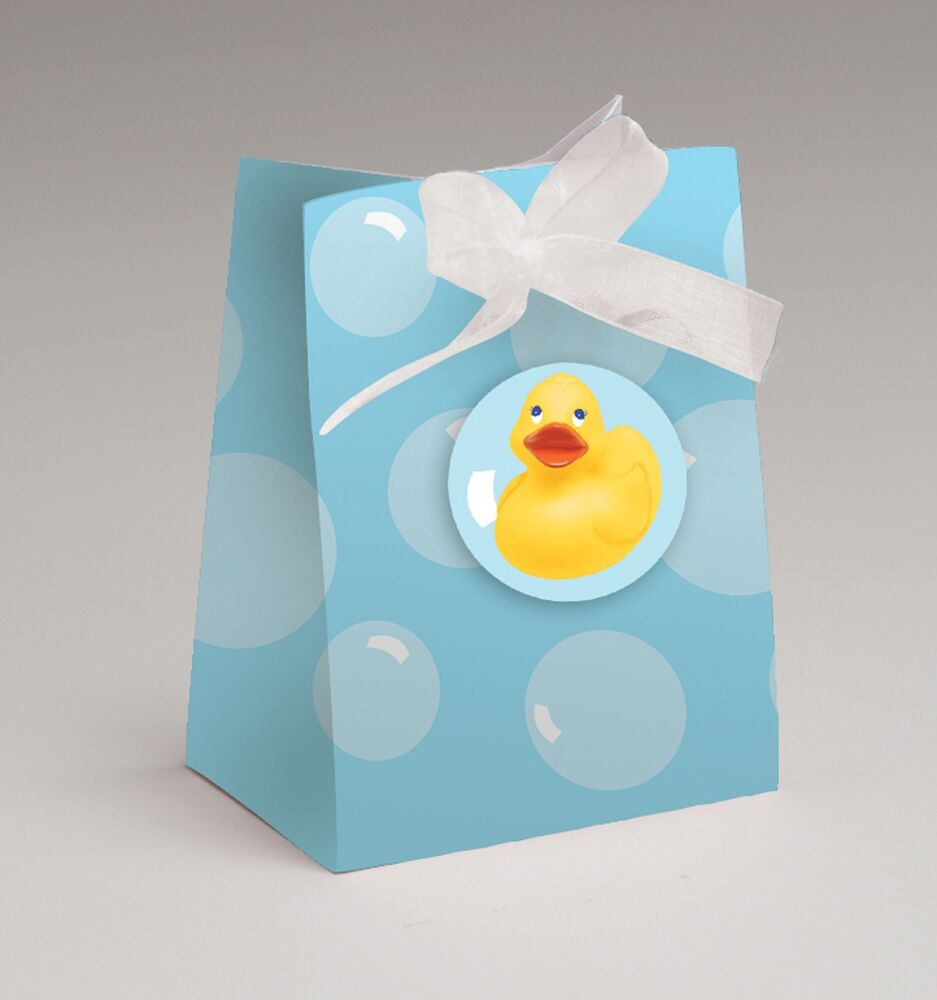 Rubber Ducky Favor Bags 12ct Great Baby Shower
