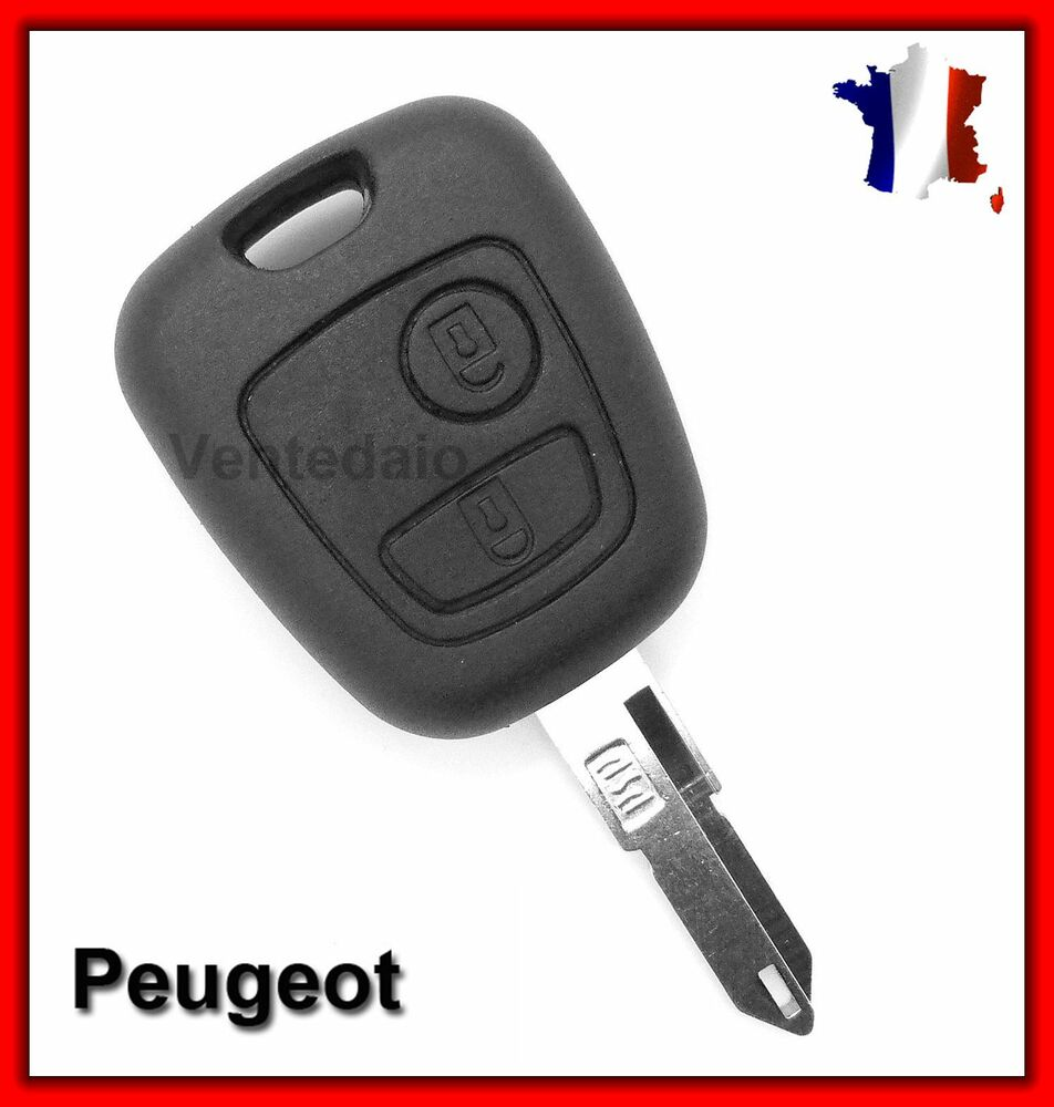 coque plip t l commande cl peugeot 106 107 206 307 livraison rapide ebay. Black Bedroom Furniture Sets. Home Design Ideas