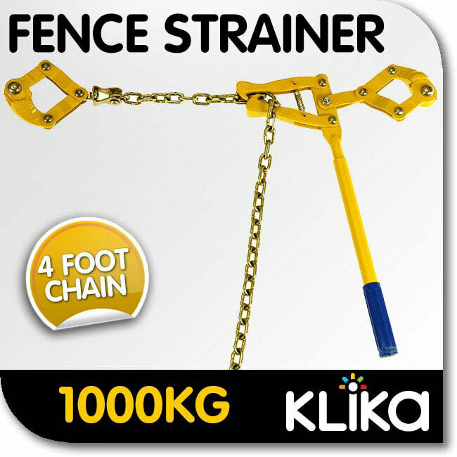New Wire Fence Strainer Fencing Repair Tool Suit Plain Or