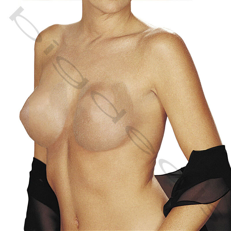 4ce7ba7ed9242 Details about Adhesive Bra Invisible Breast Pasties Push Up Nipple Cover  Strapless Tape Lift