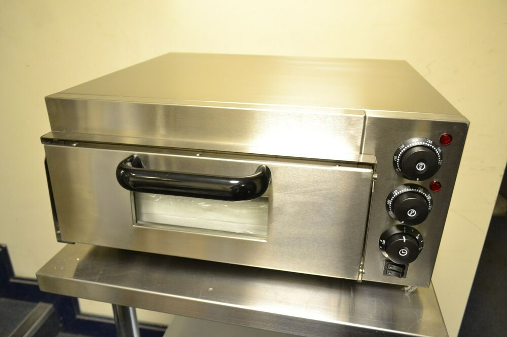 Commercial Electric Pizza Oven ~ New commercial electric single deck pizza oven cooks