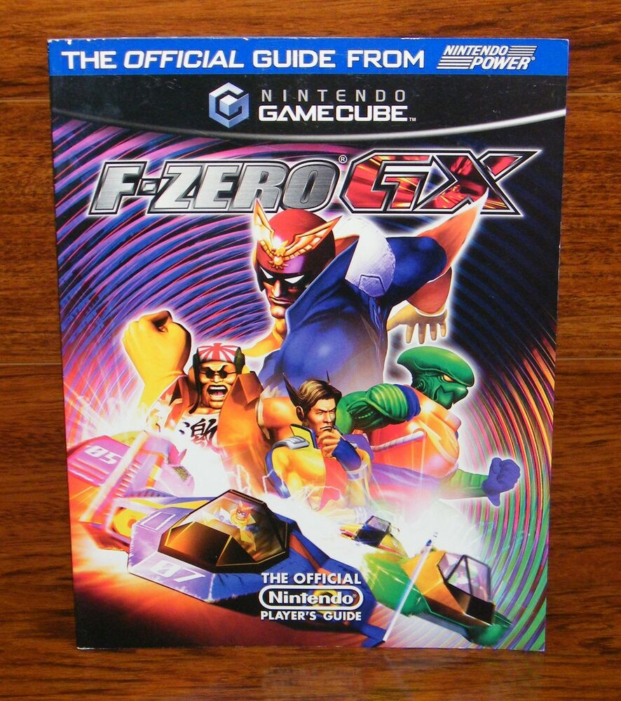 Image Official Guide Book Volume1 Jpg: F-Zero GX Official Strategy Guide By Nintendo Power
