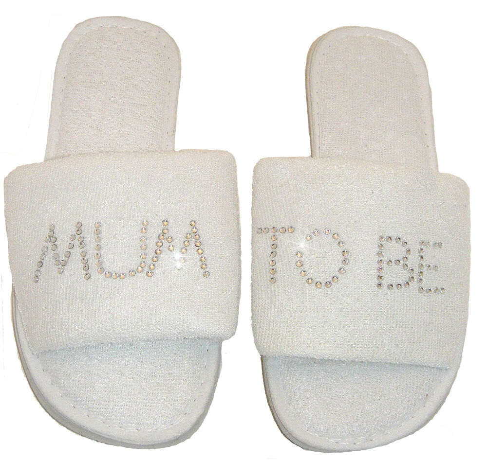 Free Baby Gifts For New Mums Uk : Mum to be slippers new baby shower gift auntie nan