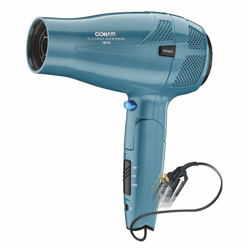 how to change voltage on conair 1875 hair dryer