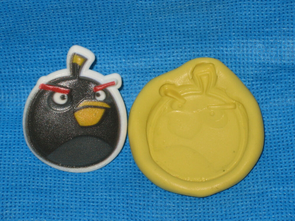 Bird Character Chocolate Fondant Silicone Push Mold #188 ...