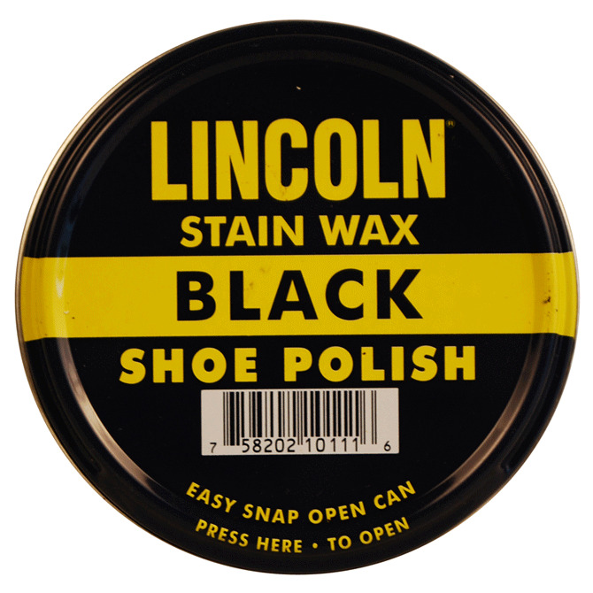 Black Shoe Cream Polish