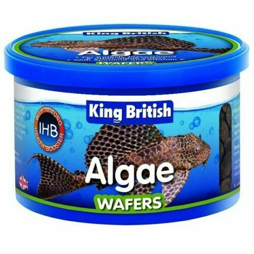 King british algae wafers 40g 100g fish food aquarium tank for Aquarium fish food