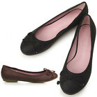 New Womens Lovely Shoes Ballet Low Heels Flats Loafers Slip-On