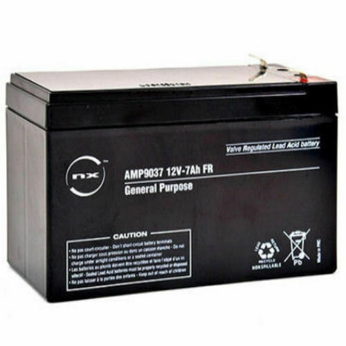 12 volt 7ah burglar alarm battery rechargeable battery 12v 7ah ebay. Black Bedroom Furniture Sets. Home Design Ideas