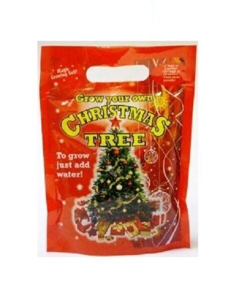 Grow Your Own Real Christmas Tree With Seeds And Soil Just