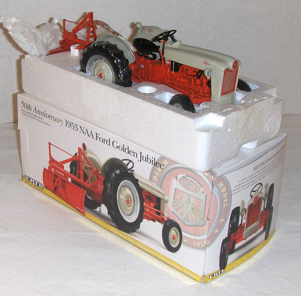 Toys From 1953 : Vint ertl precision classic naa ford golden