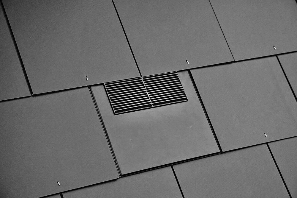 Slate Vent Tile 500 X 250 Mm 10K Roof Ventilation For Soil Pipe Extractor F
