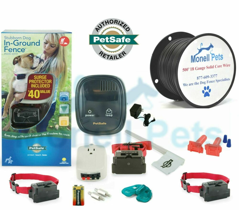 Petsafe Stubborn 3 Dog In Ground Electric Fence 500 18