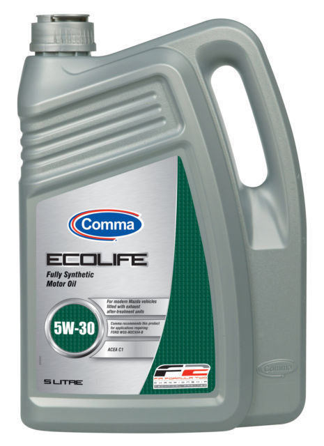 comma ecolife 5w 30 low saps fully synthetic motor engine oil 5l acea c1 ecl5l ebay. Black Bedroom Furniture Sets. Home Design Ideas