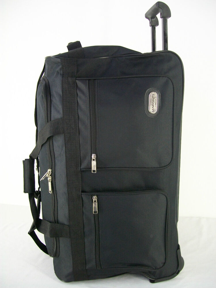 Trolley Bag On Wheels Luggage Holdall Choice Of Small