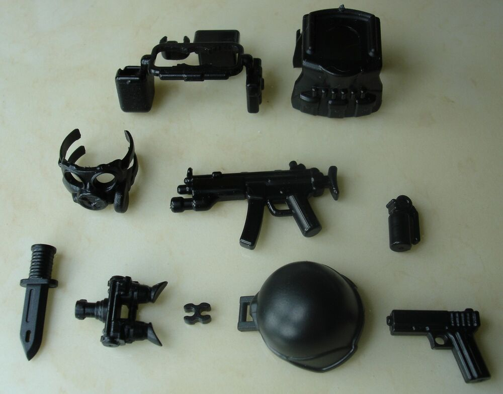 lego guns for minifigures how to build