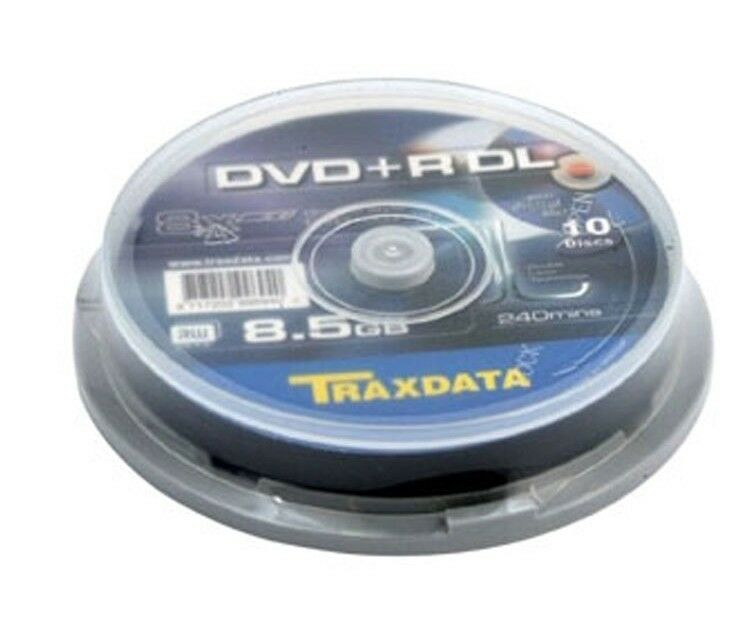 50 traxdata ritek dual double layer dvd r dl 8x blank. Black Bedroom Furniture Sets. Home Design Ideas
