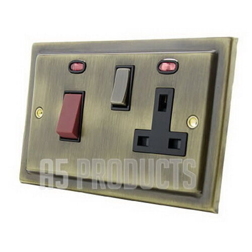 Cooker Control Unit ~ Cooker control unit a switch with plug socket