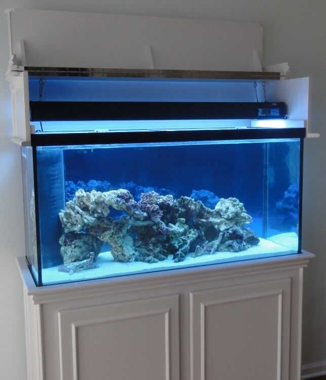 & DIY Aquarium Stand and Canopy PLANS for 75 90 gallon tanks | eBay
