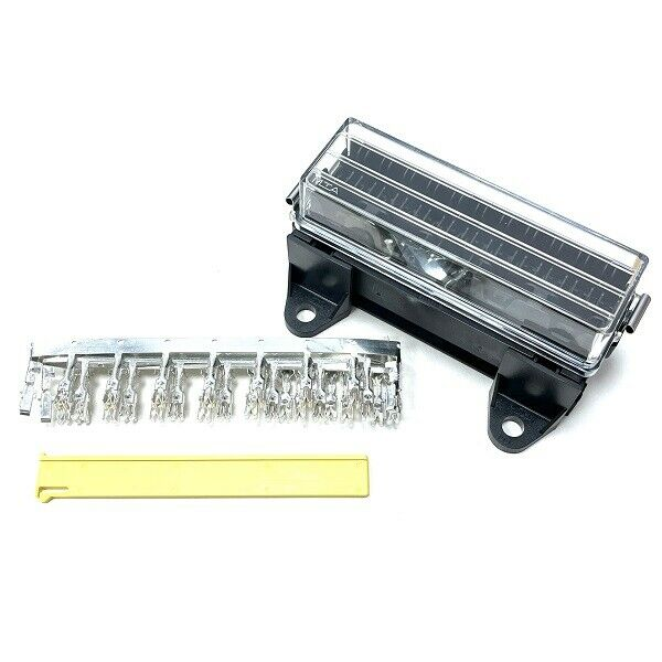 s l1000 16 way automotive fuse box with splashproof lid & terminals ebay ebay car fuse box at gsmx.co