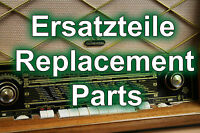 Graetz Melodia 419 # Ersatzteile # tube radio replacement parts