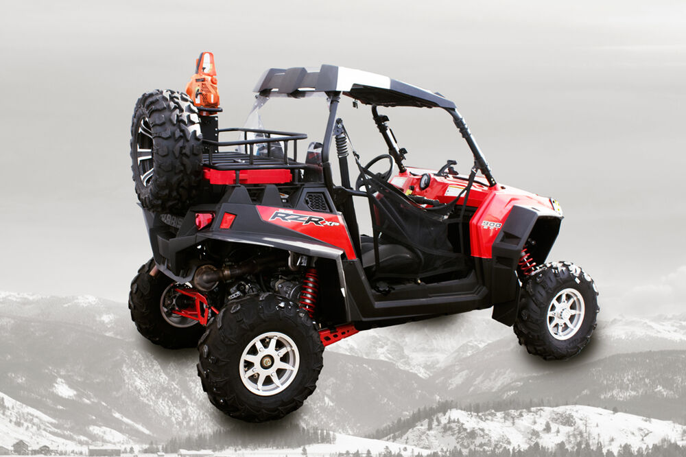 Polaris Rzr 800 Rear Lock And Ride Cargo Rack And Bed