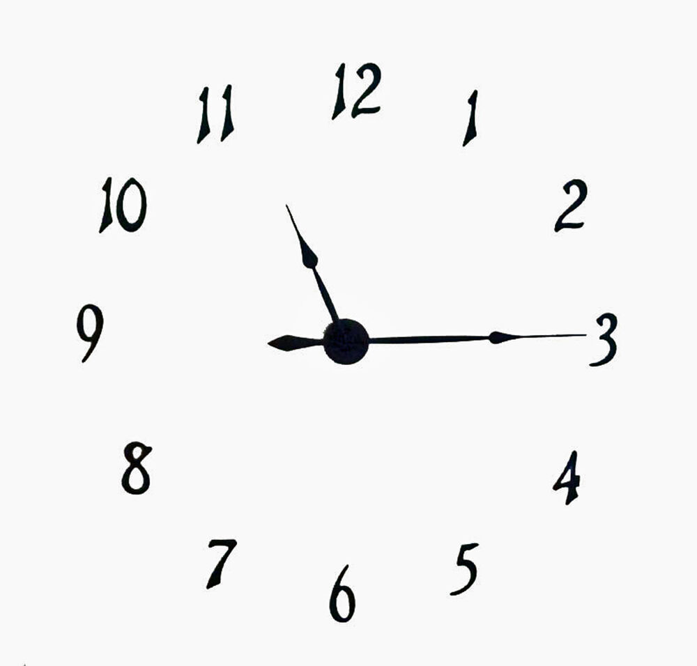 """Large 40"""" Complete Wall Clock Kit with Hands, Motor and ..."""