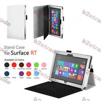 STAND Slim Fit Leather CASE COVER (White) For Microsoft Surface 10.6 Windows 8