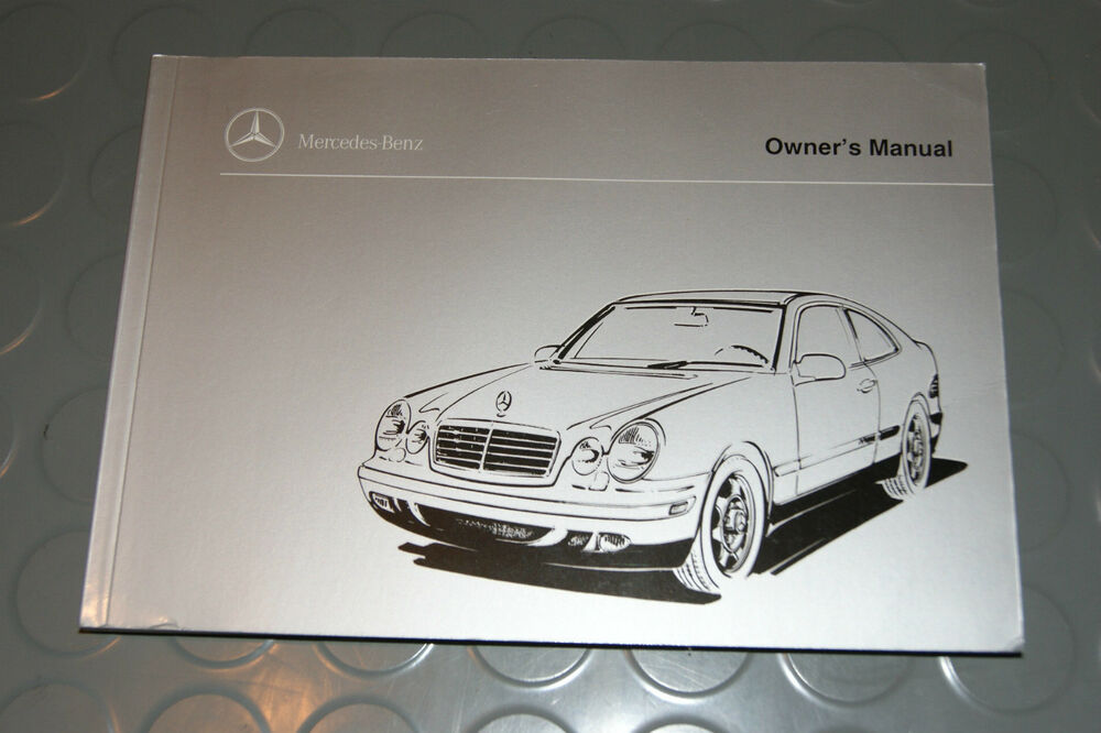 1998 mercedes benz clk320 clk 320 owners manual book ebay for Mercedes benz online repair manual