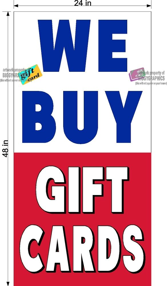We Buy Gift Cards. Get fast cash for your unwanted gift cards and store credit. We offer between 35%% of the value of the card, depending on the retailer and its current balance. Call for an immediate offer over the phone. Many major retailers are accepted!