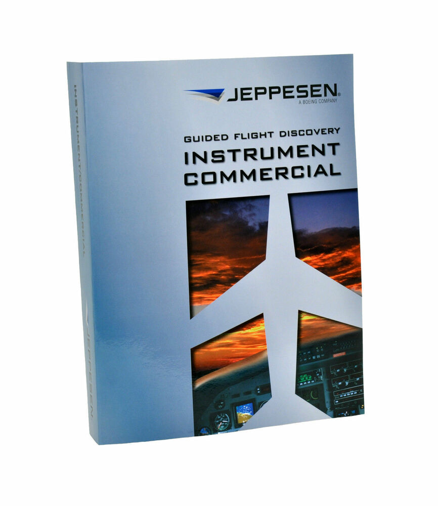 Jeppesen Guided Flight Discovery Instrument Commercial Textbook -  10001784-005 | eBay