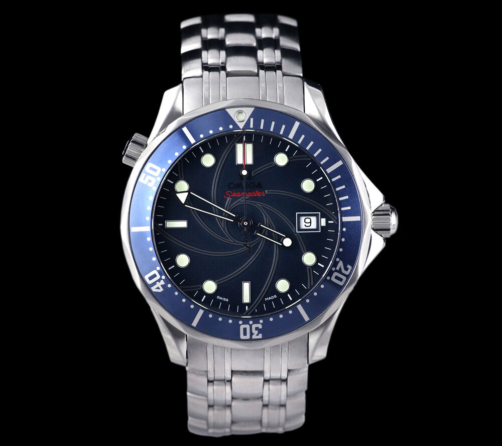 OMEGA SEAMASTER JAMES BOND 007 LIMITED EDITION SS 2226.80 ...
