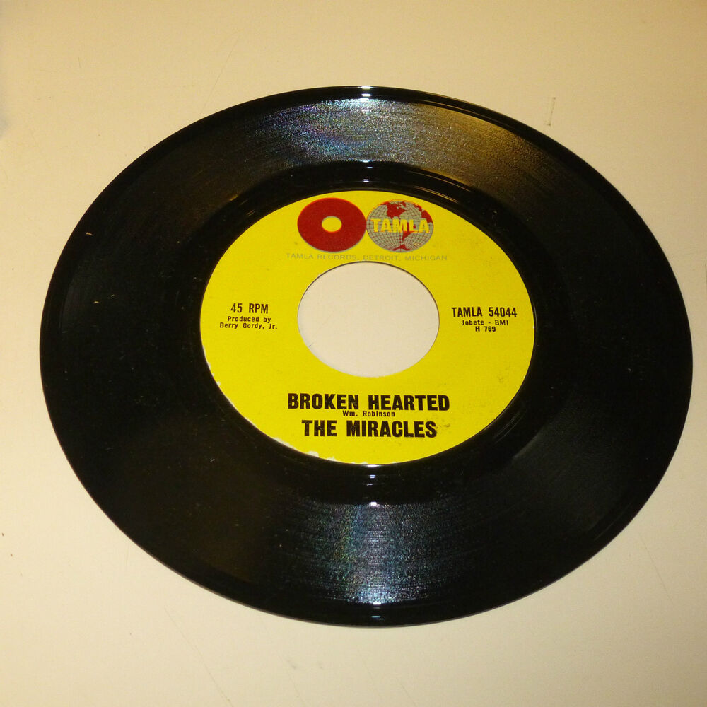Motown Northern Soul 45rpm Record The Miracles Tamla