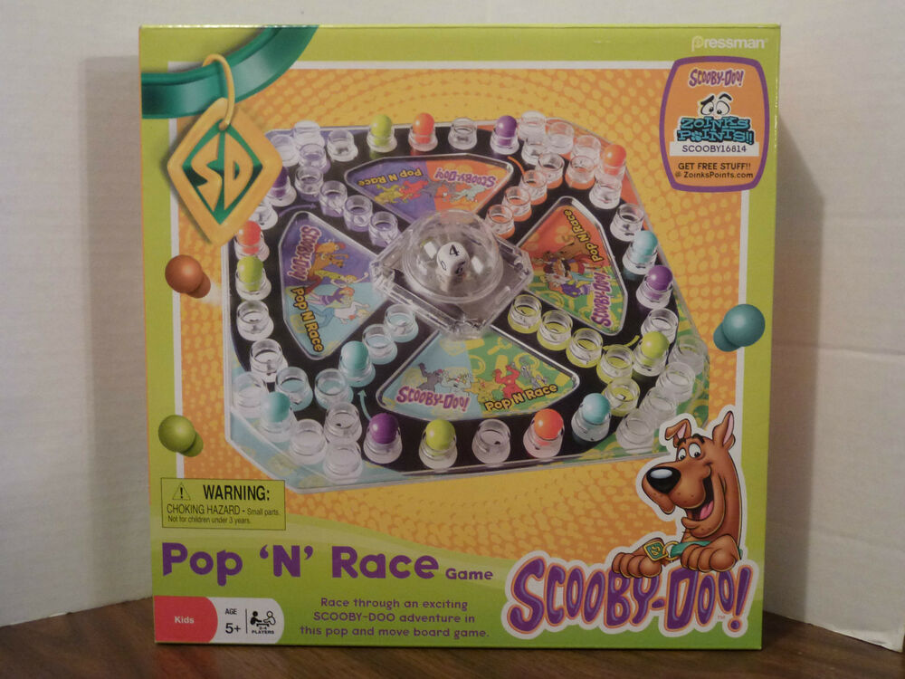 Scooby doo pop 39 n race game nip ebay - Race de scooby doo ...